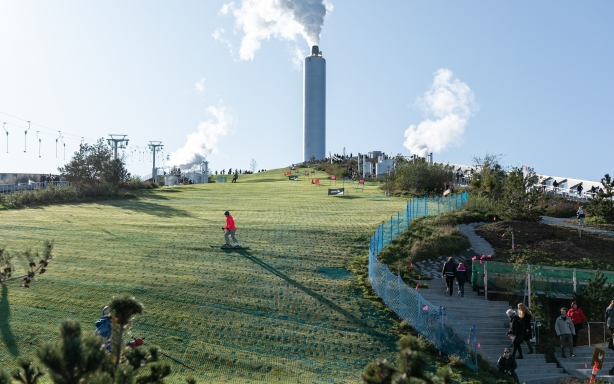 Sustainable waste incinerator in Copenhagen